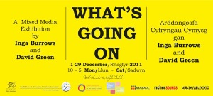 What's Going On, Exhibition Flyer
