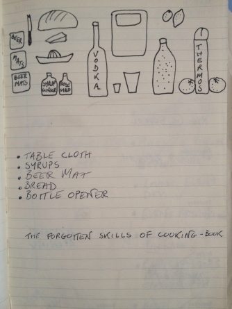 Drinks Cabinet notes